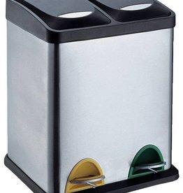Protenrop Pedaalemmer Duo 30 liter (2 compartimenten)