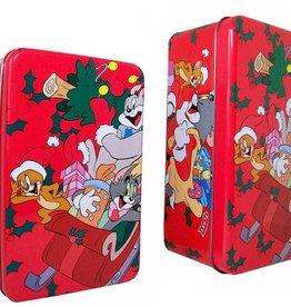 Kerstblikken Tom & Jerry, set van 2