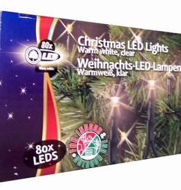 Christmas Gifts Kerstverlichting warm wit 80 LED´s