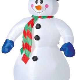 Sneeuwman opblaasbaar 180cm