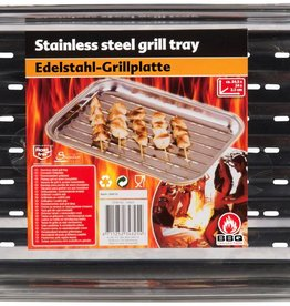 BBQ Collection Grillplaat 34,5x24cm RVS