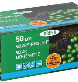 Grundig Solar snoerverlichting 50 LED's groen