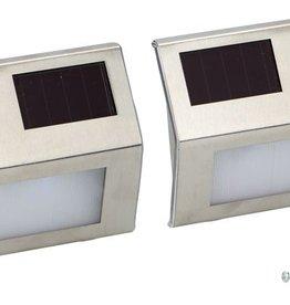 Déluxa Set van 2 LED Solar Wandlampen