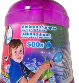 Eddy Toys 500 Waterballonnen met pomp