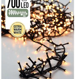 DecorativeLighting Micro Cluster 700 LED's 14 meter warm wit