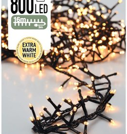 DecorativeLighting Micro Cluster 800 LED's 16 meter warm wit