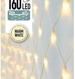 Netverlichting 160 LED's 200 x 100 cm warm wit