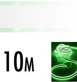 LED Neonlight 10 meter groen