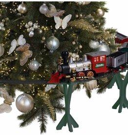 Kersttrein met licht en geluid