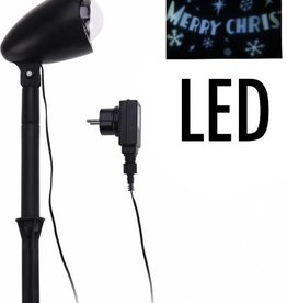 "LED Projector ""Merry Christmas"""
