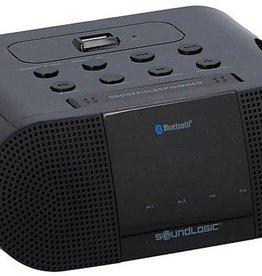 Soundlogic Draadloze Wekkerradio met ingebouwde 1A USB-oplaadpoort
