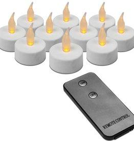 Ambiance light 10 LED Theelichtjes met afstandsbediening