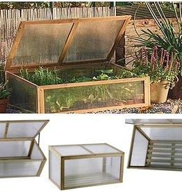 Lifetime Garden Houten broeikas met isolerende vensters
