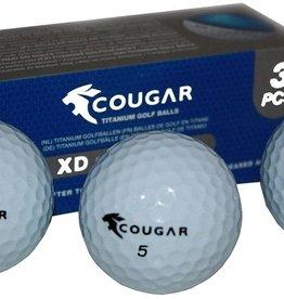 Cougar 15x Titanium golfballen