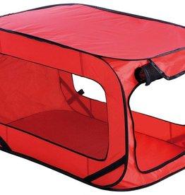 Hondenbench Pop-Up 54x92x54cm rood
