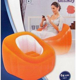 Bestway Lounge Comfi Cube oranje