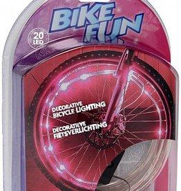 BikeFun Fietsverlichting LED roze