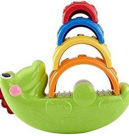 Fisher-Price Stapel & Schommel Krokodil