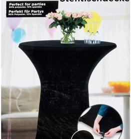 Statafelrok stretch 75-85cm zwart