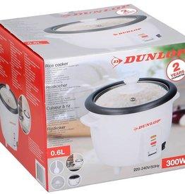Dunlop Rijstkoker - 0,6 liter - 300W