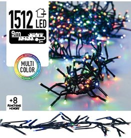 DecorativeLighting Clusterverlichting 1512 LED 11m multicolor