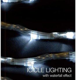 IJspegel verlichting met watervaleffect - 392 LED - 6 meter - wit