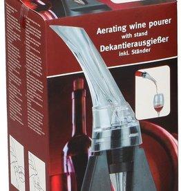 Wijnschenker met beluchting en standaard