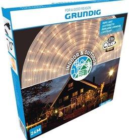 Grundig Lichtslang 24 meter - 576 LED - warm wit