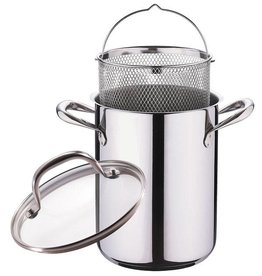 Bergner asperge-/ pastapan met deksel (4,2 l.)