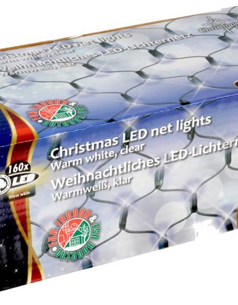 Christmas Gifts Christmas gifts LED Net-verlichting warm wit (160 LED's)