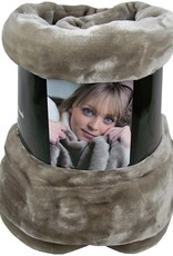 Fashion Zone Fleecedeken Cashmere Touch - 200x150cm - taupe