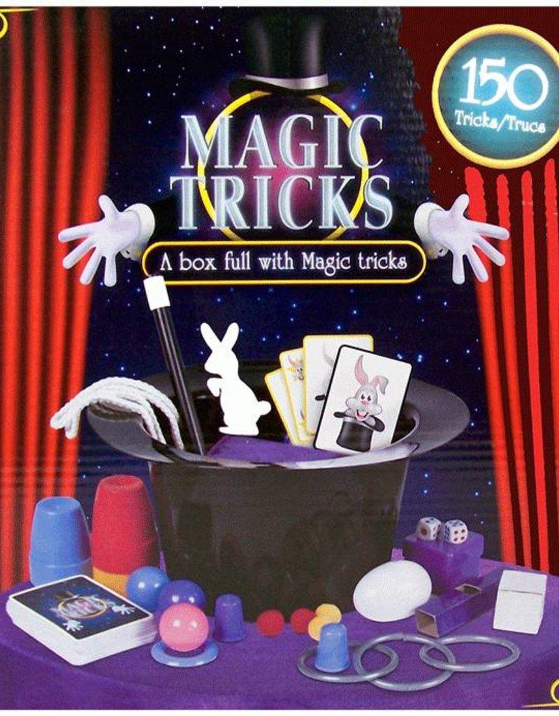 Magische goocheldoos met 150 trucs