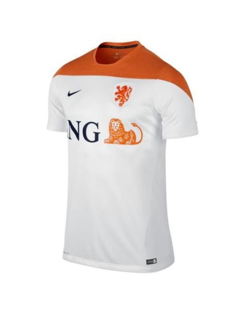 NIKE 2014-15 Holland Nike Training Shirt (White)