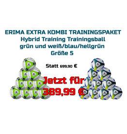 ERIMA Hybrid Trainingsball Blau + GRÜN