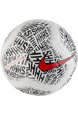 NIKE Neymar Strike Fussball Weiss Schwarz