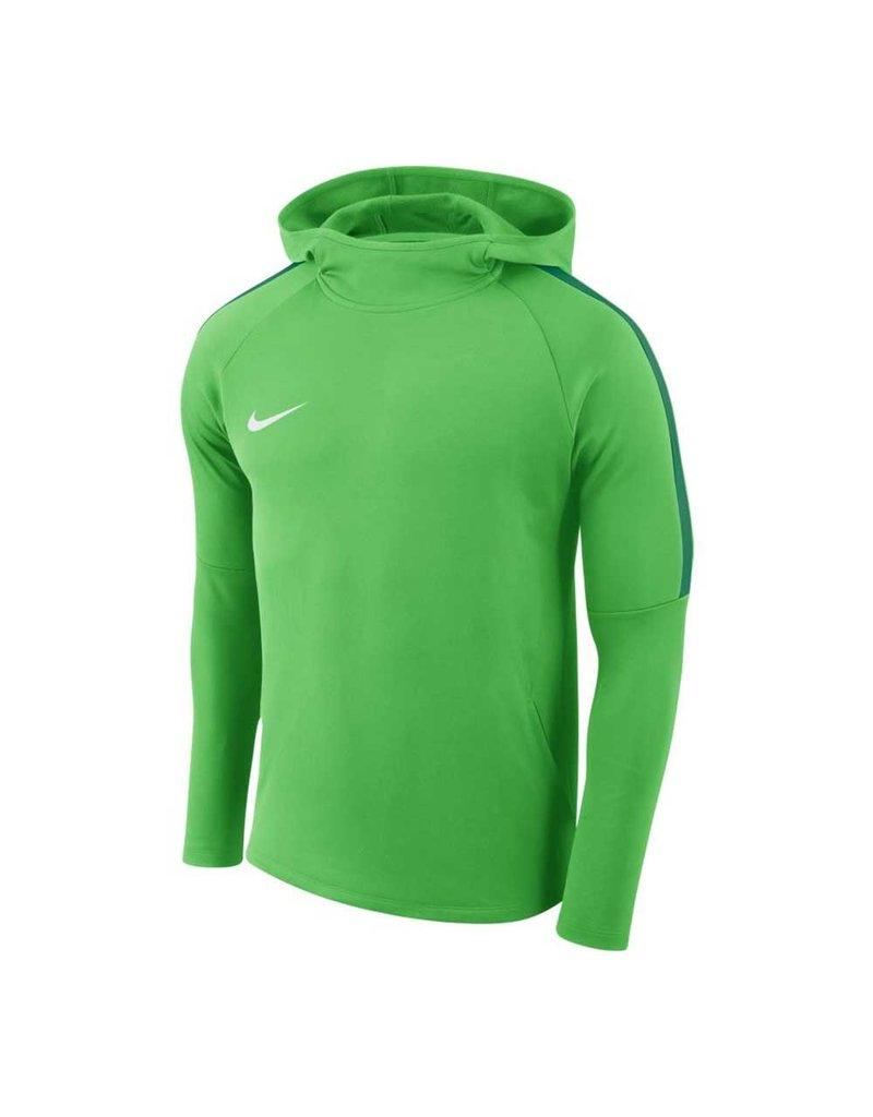 Nike Academy 18 Hoody  (LT GREEN SPARK/PINE GREEN/WHIT)