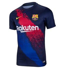 Nike FC Barcelona Kurzarm-Fußballoberteil für KINDER