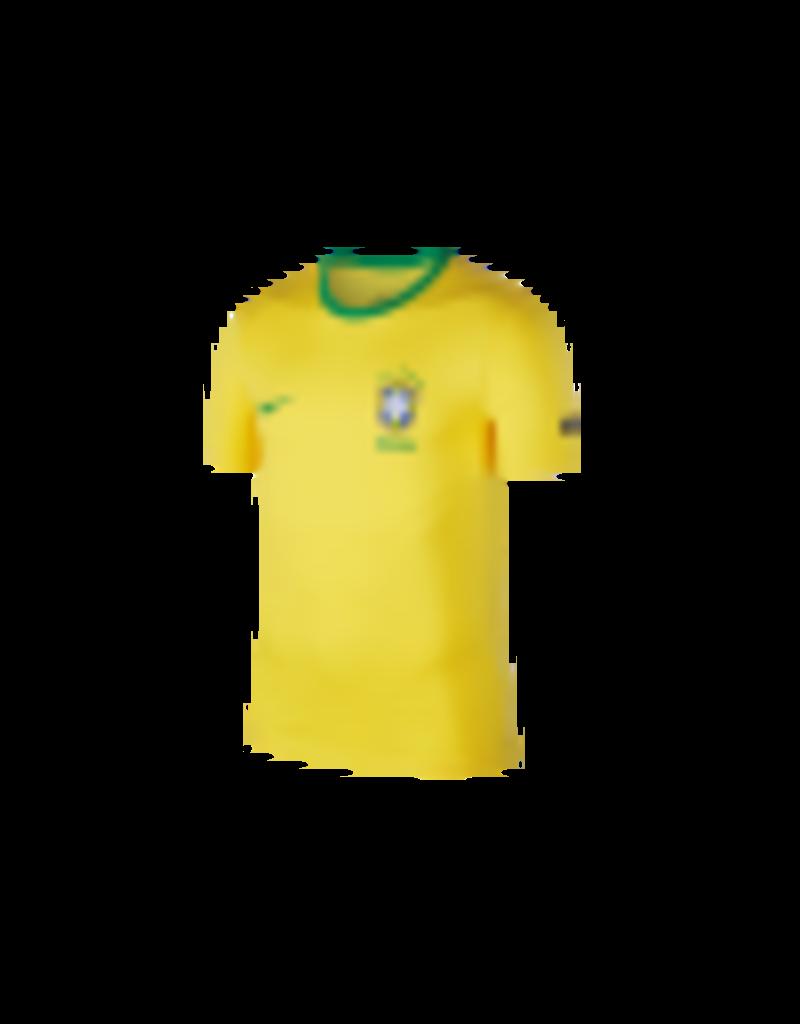 Nike Nike – Football Brazil – T-Shirt mit Wappen in Gelb,