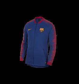 NIKE FC Barcelona Hymne Jacke - Blau