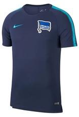NIKE Nike Hertha Berlin Training T-Shirt Breathe Squad - Navy/Chlorine Blue