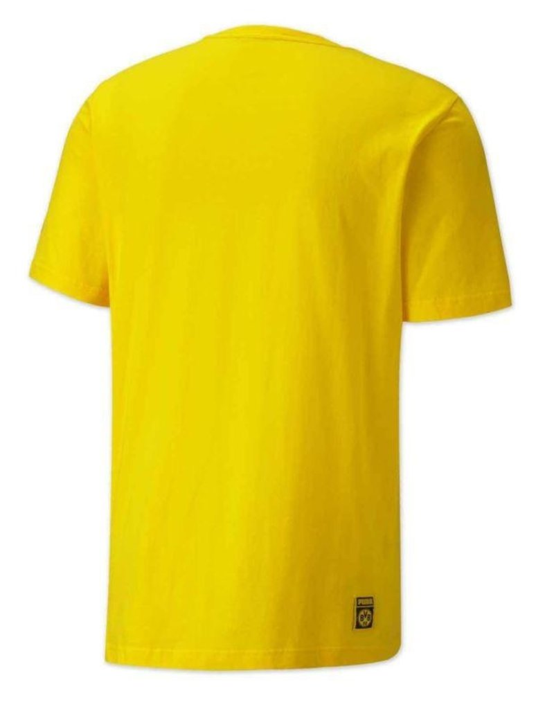PUMA PUMA BVB Borussia Dortmund ftblCore Graphic T-Shirt cyber yellow/puma