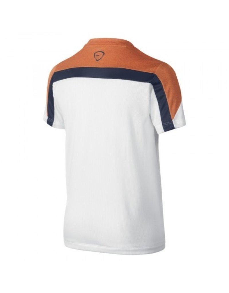 NIKE Nike Netherlands Squad Boys Heather Training Top (White)