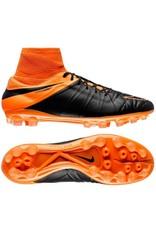 NIKE Nike Hypervenom Phatal II Leder AG Schwarz/Orange