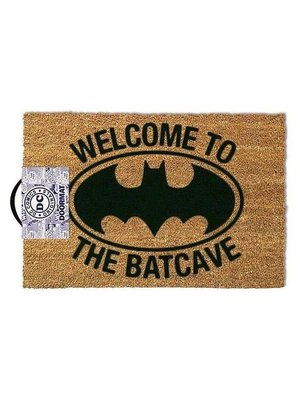 Welcome to the Batcave Doormat 60x40 PVC met Kokosvezels