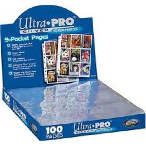 Ultra Pro Silver Series 9 Pocket Vellen (per vel)