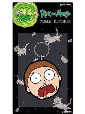 Rick and Morty ,Morty Terrified Face Keychain