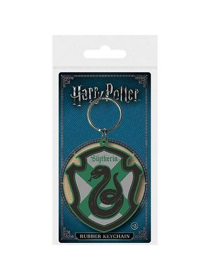 Harry POtter Slytherin Rubber Keychain