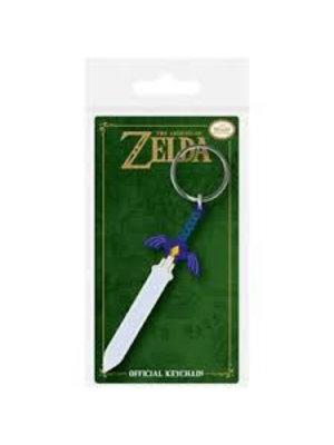 Zelda Master Sword Rubber Keychain