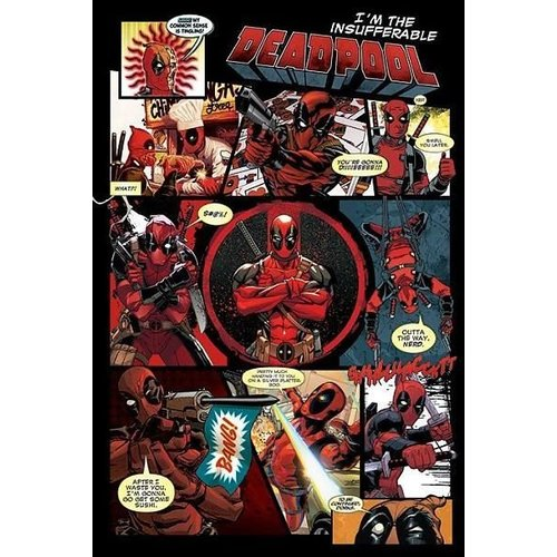 Deadpool Panels Maxi Poster 61x91.5