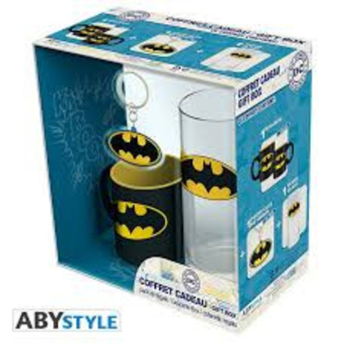 DC Comics Batman Gift Set Glas / Mini Mok / Sleutelhanger